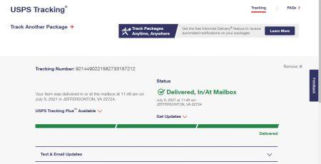 Kiểm tra tracking number khi gửi hàng đi Mỹ