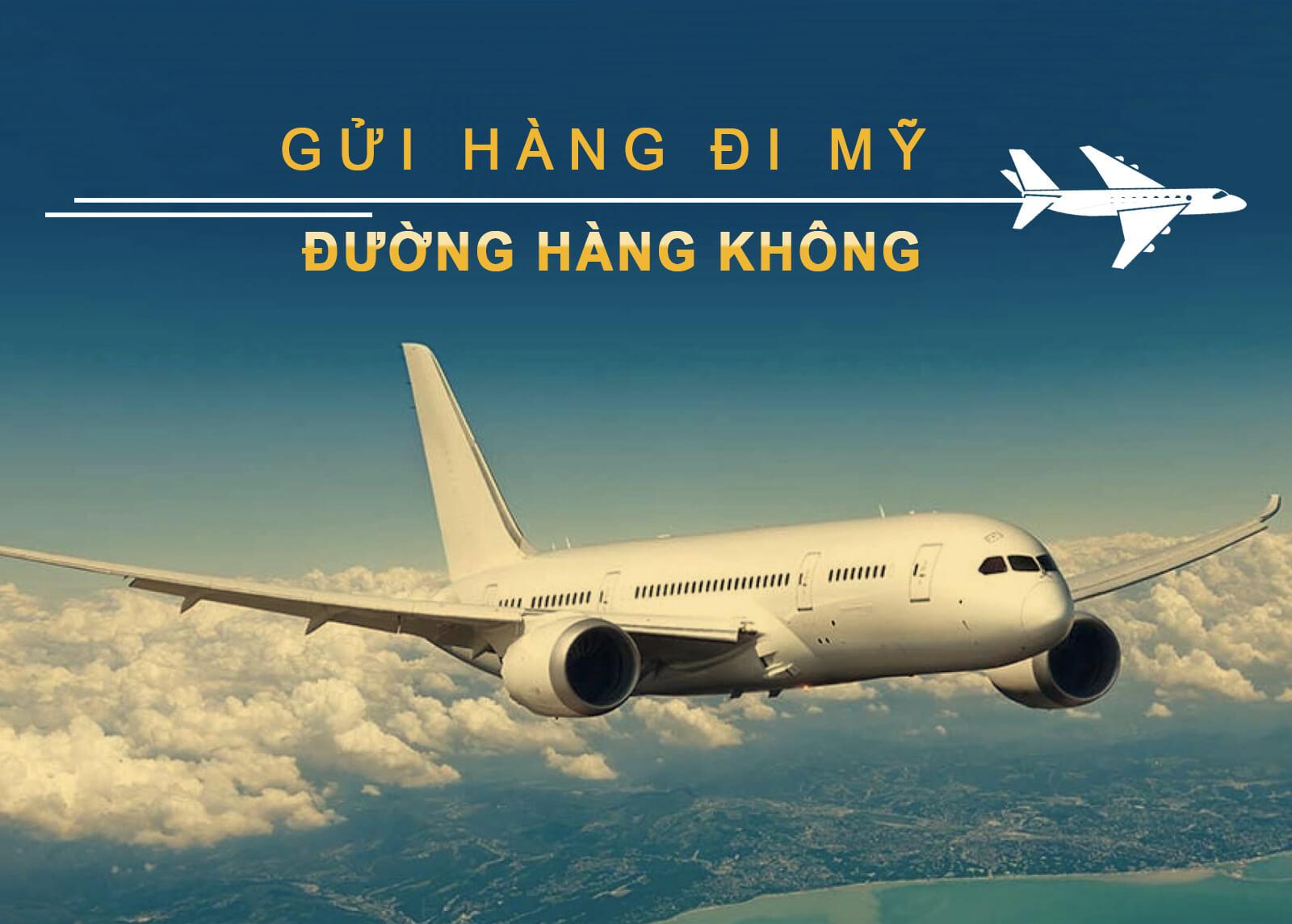 Vận chuyển hàng không đi Mỹ tại Bắc Giang